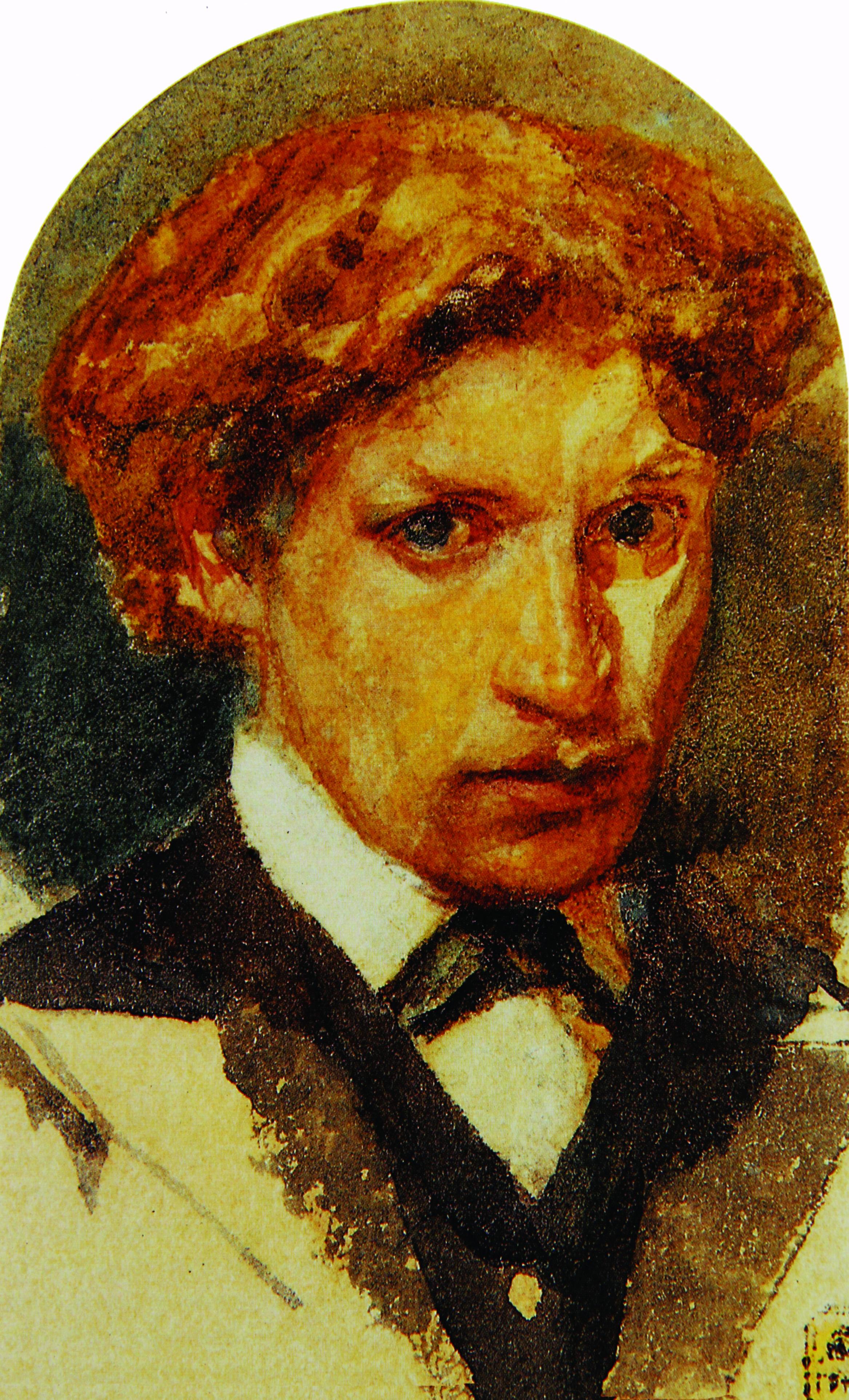 Автопортрет.-1882