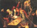 Иероним Босх. Корабль дураков (фрагмент). 1500