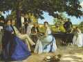 Фредерик Базиль. Семья художника. 1867. Х., м