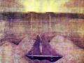 Соната моря. 1908 г. Бумага, темпера. Анданте