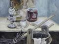 Маковская Витана, 17 лет, натюрморт в интерьере