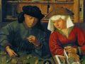 Квентин Массейс. Меняла с женой. 1514