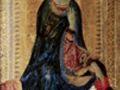 Симоне Мартини. Мадонна из сцены Благовещение