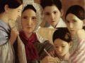 Неизвестный художник. Портрет семьи Енатских. 1839. Х., м.