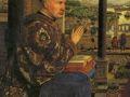 Ян ван Эйк. Мадонна канцлера Рлена. 1435. (фрагмент)
