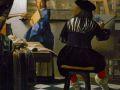 Ян Вермеер. Мастерская художника. 1675. Х., м. (фрагмент)