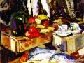 Константин Коровин. Рыбы. 1916. Х., м.