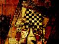 Луис Маркоус, «Натюрморт с шахматами», 1912, х.м