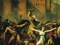 Ж.Л. Давид, «Сабинянки, останавливающие битву римлян с сабинами», х.м