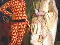 В. Шухаев, А. Яковлев. Автопортреты в костюмах Пьеро и Арлекина. 1914. Х., м.