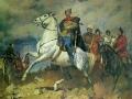 Konstantin Kitayka. V. I. Chapaev. 1955. Oil on canvas. 260 x 310 cm Private collection