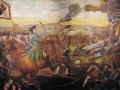 Mikhail Lomonosov. The battle of Poltava. 1762-1764. Mosaic. 274 x 427 see Academy of Sciences, St. Petersburg