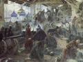 Sergey Miloradovich. Defense of the Trinity-Sergius Lavra. 1894. Oil on canvas. 138 x 221 cm the State Russian Museum