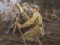 Peter Kotov. Mortars. 1942. Oil on canvas. 75 x 100 cm national art Museum of Sakha Republic (Yakutia)