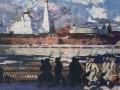 Igor Popov. Spring. 1918. Oil of canvas. The State Tretyakov Gallery