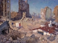 Michail Pjishta. Spring in Stalingrad in 1943. 1960. Oil on canvas. 100 x 150 cm. Volgograd Fine Arts Museum named in the honor of I.I. Mashkov.