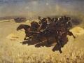 Mitrophan Grekov. Tachanka. 1925. Oil on canvas. 83 x 114 cm. The State Tretyakov Gallery.