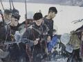 Глеб Савинов. Матросы.1942 год. 1964. Холст, масло. 147,5 x 209 см.Ярославский художественный музей