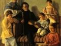 Евграф Крендовский. Портрет семейства сенатора. 1830