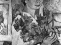 «Автопортрет с лилиями»1907г.х.м