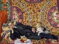 Пётр Кончаловский. Портрет В.Э. Мейерхольда. 1938. Холст, масло. 211 х 233 см. ГТГ