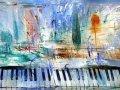 Александр Подобед. Пиано на четыре руки. 1999. Х. М.