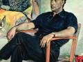 Павел Корин. Портрет Ренато Гуттузо. 1961. Х. М..