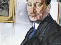 Ю. Анненков. Портрет А.Н. Тихонова. 1922г. Х.М.