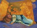 Спящая в кошаре. 1911. Х., м.