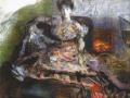 Михаил Врубель. После концерта. 1905. Холст, пастель