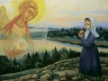 Siberian girl Parasha. Oil on canvas. 2013