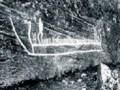 Древнее наскальное изображение. Скандинавия