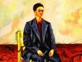 Автопортрет с обрезанными волосами. 1940 г.