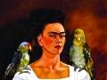 Я и мои попугаи. 1941 г.