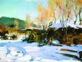 Зимний пейзаж. 1917. Х., м.
