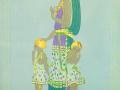 Материнство. Шелкография. 1989
