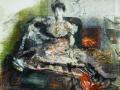 После концерта. Портрет Н.И. Забелы-Врубель. 1904