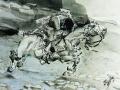 Скачущий всадник. 1890–1891
