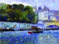 Париж. Сена. 1902. Х., м.