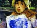 Портрет хористки. 1883. Х., м.
