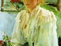 Портрет М.Я. Львовой. 1895. Х., м.