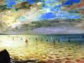 Вид на море с холмов в Дьеппе. 1852. Х., м.