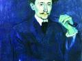 Пабло Пикассо. Портрет Солера. 1903. Х., м.