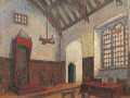 Эскиз декорации к спектаклю «Ученик дьявола» Б. Шоу в филиале Малого театра Москва 1921 г.