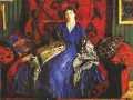Борис Кустодиев. Ю. Е. Кустодиева. 1920. Х., м.