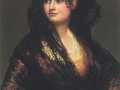 Франсиско Гойя. Женщина в чёрной шали. 1820. Х., м.