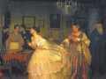 Павел Федотов. Сватовство майора (фрагмент). 1848. Х., м