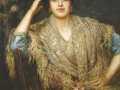 А.А. Харламов. Портрет южанки с шалью. 1890. Х., м.