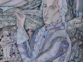 «Моцарт и его музыка», гелевые ручки. Матвей ЩЕРБАКОВ 12 лет, г. Саратов