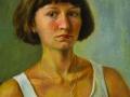 Anastasia Vdovina, 17 years old, Omsk, A. Movljan's portrait school, self portrait